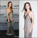 Jordana Brewster In Galvin  At 2016 InStyle Awards
