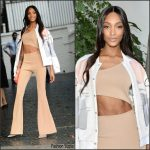 Jourdan Dunn In  Bec & Bridge  At   CFDA/Vogue Fashion Fund Event