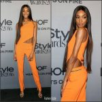 Jourdan Dunn In  David Koma  At 2016 InStyle Awards