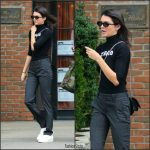 Kendall Jenner In  Ralph Lauren pants – Out In New York