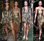 Kim Kardashian and  Kourtney Kardashian At   Balmain PFW  Fashionshow Afterparty