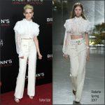 Kristen Stewart  In Rodarte At  Billy Lynn  New York Film Festival Premiere