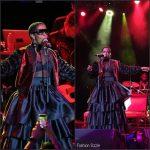 Lauryn Hill In Sophie Theallet  At Tidal 'MLH Caravan: A Diaspora Calling '  Concert