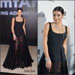 Lea Michele In  Elie  Saab  At The  2016 Amfar  Inspiration  Gala