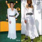 Lea Michele  In Missoni  At Veuve Clicquot  Polo Classic in Los Angeles