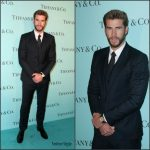Liam Hemsworth  In Dolce & Gabbana  At the Tiffany & Co store renovation unveiling in LA