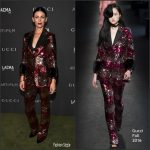 Liberty Ross  In Gucci At The 2016 LACMA ART + FILM GALA