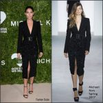 Lily Aldridge In Michael Kors At The 2016 Golden Heart Awards
