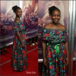 "Lupita Nyong'o In Kenzo x H&M At "" Loving""  New York Premiere"