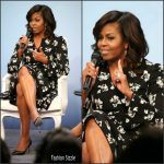 "Michelle Obama in Proenza Schouler At ""A Brighter Future "" Event In Washington DC"