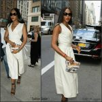 Naomi Campbell In Marc Jacobs At  Bill Cunningham Memorial