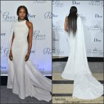 Naomi Campbell  In  Ralph & Russo At Princess Grace Awards Gala  In New York