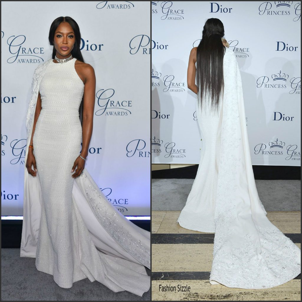 Naomi Campbell In Ralph & Russo At Princess Grace Awards Gala In New ...