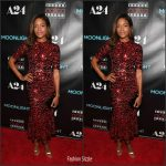 Naomie Harris In Dolce & Gabbana  At 'Moonlight' Atlanta Screening