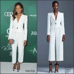 Naomie Harris  In Emanuel Ungaro At  Variety's Power Of Women luncheon