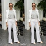 Nicole Richie In Bella Freud At  CFDA/Vogue Fashion Fund Event