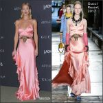 Rosie Huntington-Whiteley In Gucci  At The 2016 LACMA ART + FILM GALA