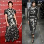 Ruth Wilson   In Erdem At The  2016 Fashion  Group International  Night  Of Stars Gala
