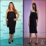 Sofia Vergara  In Cushnie Et Ochs  At the Tiffany & Co Store Renovation LA Unveiling