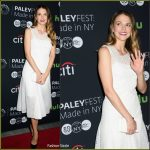 Sutton Foster wears Akris to Paleyfest New York screening of 'Younger'
