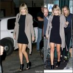 Taylor Swift  leaving The Waverly Inn in New York
