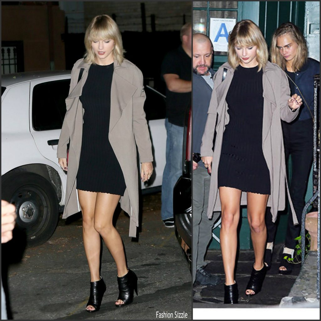 Taylor Swift Leaving Apartment