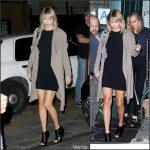 Taylor Swift  leaving The Waverly Inn in New York
