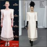 Tilda Swinton  In Chanel At Doctor Strange Event in Shanghai, China