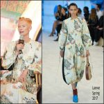 Tilda Swinton  In Loewe  At Doctor Strange Press conference in Shanghai, China