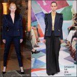 Tilda Swinton  In Schiaparelli  Couture  At The  'Doctor Strange' London Fan Screening