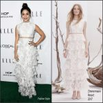 Vanessa Hudgens  In Zimmermann   At 2016 ELLE Women in Hollywood Awards