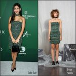 Victoria Justice In  Bryan Hearns  At 2016 Variety's Power of Women Luncheon