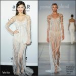 Victoria  Justice In  Pamella Roland At The 2016 Aamfar Inspirational Gala