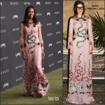Zoe Saldana In Gucci  At The 2016 LACMA ART + FILM GALA