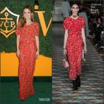 Zoey Deutch  In Christian Dior    At The 7th   Veuve Clicquot   Polo  Classic LA