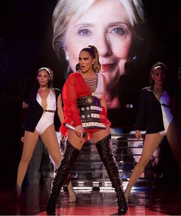jennifer-lopez-performs-in-fausto-puglisi-at-hillarys-concert-in-miami
