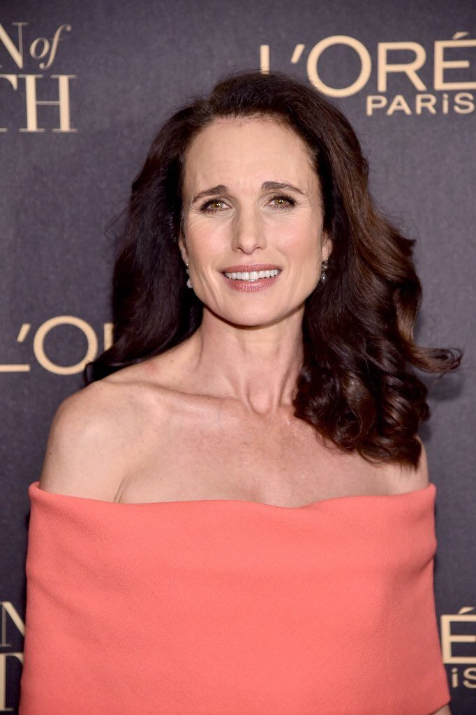 andie-macdowell-in-lela-rose-at-the-2016-loreal-paris-women-of-worth-awards