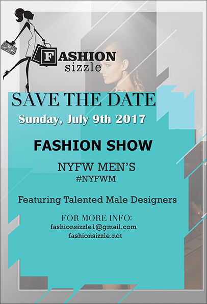 Fashion Sizzle Save the Date