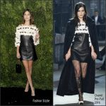 Alexa Chung  In Chanel   At The Museum of Modern Art's Film Benefit Honoring Tom Hanks