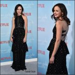 "Alexis Bledel  In Cynthia Rowley  at  Gilmore Girls "" Revival ""Netflix Premiere"