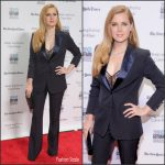 Amy Adams In Max Mara At The 2016  IFP Gotham Independent Film Awards