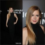 Amy Adams  In Tom Ford At  The  Nocturnal Animals LA Premiere