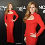 Amy Adams In Tom Ford At The Nocturnal Animals New York Premiere