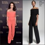 Andie Macdowell  In Lela Rose  At The  2016 L'ORÉAL Paris Women Of Worth Awards