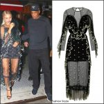Beyoncé  In Alice McCall  At  SNL After Party