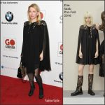 Courtney Love  In Elie Saab  At The Go Campaign GALA 2016