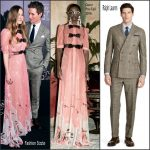 Eddie Redmayne   & Hannah Bagshawe At Fantastic Beasts New York Pemiere