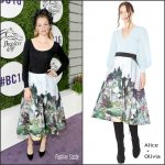 Elizabeth  Banks In Alice  + Olivia At The 2016 'Breeders' Cup World  Championships