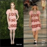 Ellie Bamber In Chanel   At The Museum of Modern Art's Film Benefit Honoring Tom Hanks