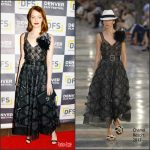 "Emma Stone  In Chanel  At  Denver Film Festival Opening night ""La La Land"" Premiere"